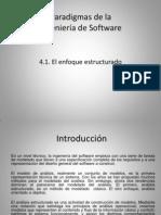 Paradigmas de la ingeniería de Software