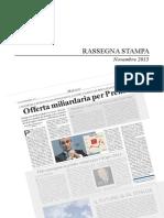 Per la Prelios guidata da Caputi  arriva un'offerta  miliardaria - Rassegna Massimo Caputi Nov 2013
