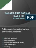 JALAN LAHIR NORMAL& KL 3 & 4.pptx