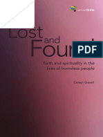 Lost and Found, Faith and spirituality in the lives of homeless people