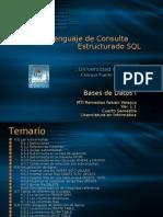 Bases de Datos I. Tema VI. Lenguaje de Consulta Estructurado 2da Parte