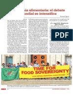 Soberania Alimentaria El Debate Mundial Se Intensifica