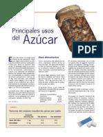 Principales Usos Del Azucar