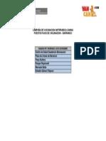 PUESTOS FIJOS DE VACUNACION -DISTRITO DE BARRANCO (CAMPAÑA DE VACUNACION ANTIRRÁBICA CANINA VAN CAN 2013)