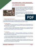 HISTORIA Y CULTURA EN LA ROMA CLÁSICA
