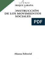 LA CONSTRUCCIÓN DE LOS MOVIMIENTOS SOCIALES - Laraña