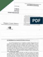 Wagner Costa Ribeiro - A Ordem Ambiental Internacional
