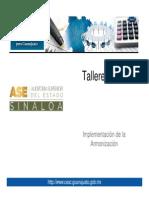 Taller ASES
