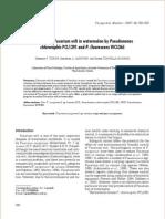 Reduction of Fusarium Wilt in Watermelon by Pseudomonas