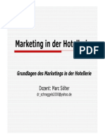 Marketing in Der Hotellerie