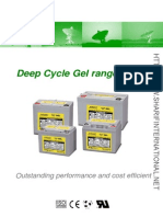 Everexceed Deep Cycle Gel Range