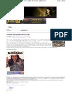 080910 - Teoria da Conspiração - Cientistas vêem imagem de Jesus no LHC