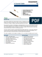 Piezo Copolymer Coaxial Cable