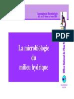 La Microbiologie Des Milieux Hydriques Par Melle BENABDALLAH 1