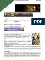 081124 - Teoria da Conspiração - Marosia - Assassinatos Papas e Crucifixos