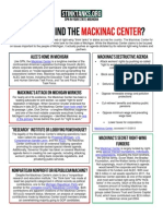 MI - WHO IS BEHIND THE MACKINAC CENTER