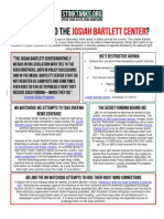 NH - WHO IS BEHIND THE JOSIAH BARTLETT CENTER