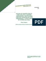 Encuesta CPI NOV 2013 popularidad presidencial