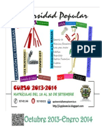 Cuadernillo Cursos Octubre 2013-Enero 2014