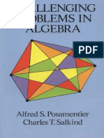 Challenging Problems in Algebra - Posamentier,Salkind-Dover