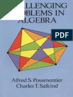 Challenging Problems in Algebra - Posamentier,Salkind-Dover
