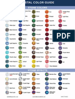 Markalino Swarovski Color Chart
