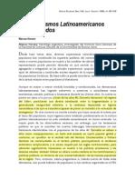 Los Populismos Latinoamericanos Transfigurados