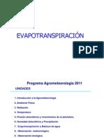 Clase 6 Evapotranspiracion