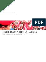 Plan de La Patria.