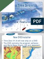 MaxSea TimeZero V1.9 New Features