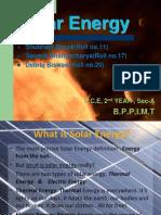 solar energy powerpoint