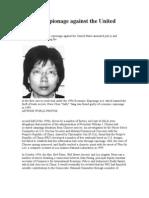 Chinese Espionage Against the United States