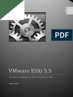 Installation de VmWare ESXi 5.5