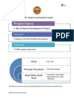 Traffic Impact Assesment Review Report