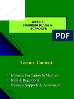 Nota Keusahawanan Week 3 (Business Rules & Supports)