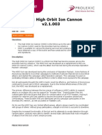 High Orbit Ion Cannon