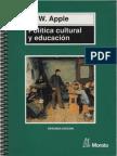 Apple, Michael - Política Cultural y Educación