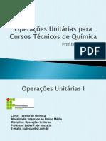 OPERAÇÕES UNITÁRIAS I