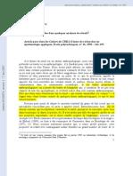 Figures Paradoxales Dans Quelques Analyses de Rituels - Casajus 1993