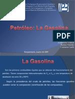 Petrleo y Gasolina