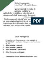 3. Stiluri manageriale