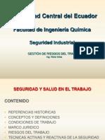 Seguridad Industrial FIQ UCE Dic 2012