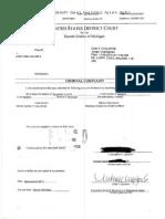 Criminal Complaint Against Larry O'Neil Walker II.