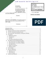 BROOKLYN CENTER FOR INDEPENDENCE OF THE DISABLED, et al v. Michael Bloomberg, et al