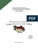 La Empresa Mixta Socialista Leguminosas Del Alba