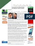 SiteBarra » Arquivado processo de denunciação caluniosa de Alencar contra Luciano Pereira