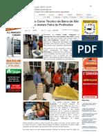 SiteBarra » Alunos do Curso Técnico de Barra de São Francisco visitam Feira de Profissões