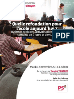 Flyer Rythmes Scolaires HD3