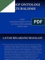 KEL.5 MAKALAH KONSEP ONTOLOGI NATURALISME.ppt