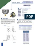 Brochure Manometros Con Glicerina